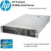 Máy Chủ HP ProLiant DL380p Gen8 E5-2620 Base Server 642120-371 (Rackmount Server 2U)