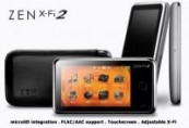 MP4 8GB Creative ZEN X-FI 2