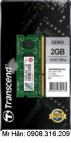 2GB DDR3 SO-DIMM DDR3-1600 Transcend (8 chip)
