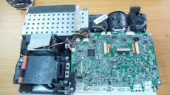 Mainboard may chieu Panasonic PT-AX200